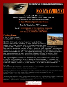 Zonta Says NO_Finding Dawn