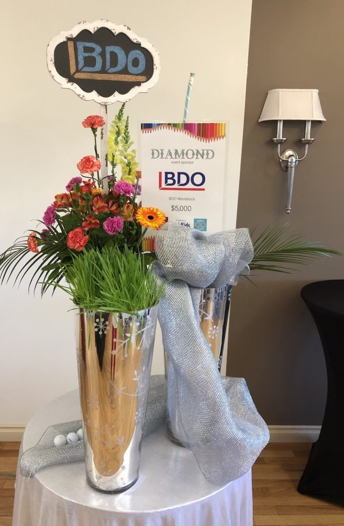 22nd Zonta Golf Classic BDO Diamond Sponsor