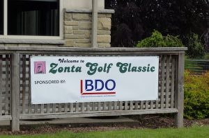 Zonta Golf Classic Diamond Sponsor Sign