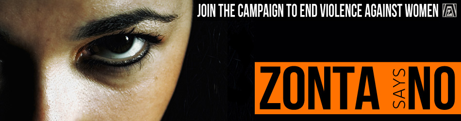 Zonta Says NO Campaign Logo