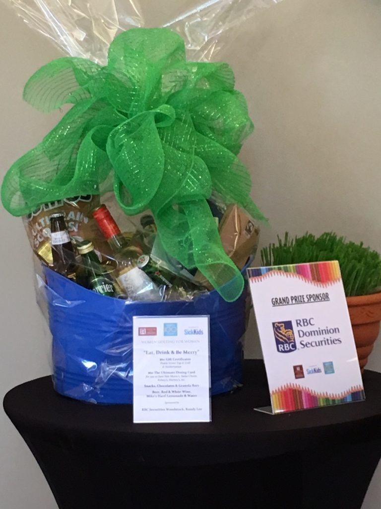 22nd Zonta Golf Classic Grand Prize Basket
