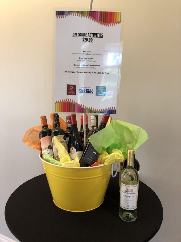 Zonta Golf Classic Wine Prize
