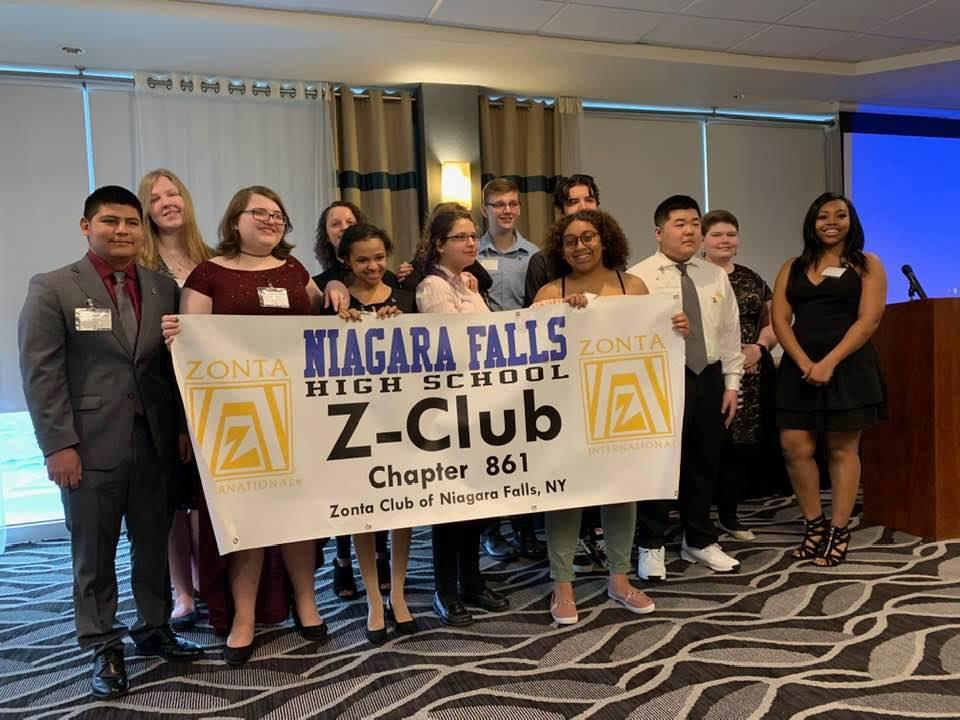 Zonta District 4 New Charter of Z Club of Niagara Falls, NY
