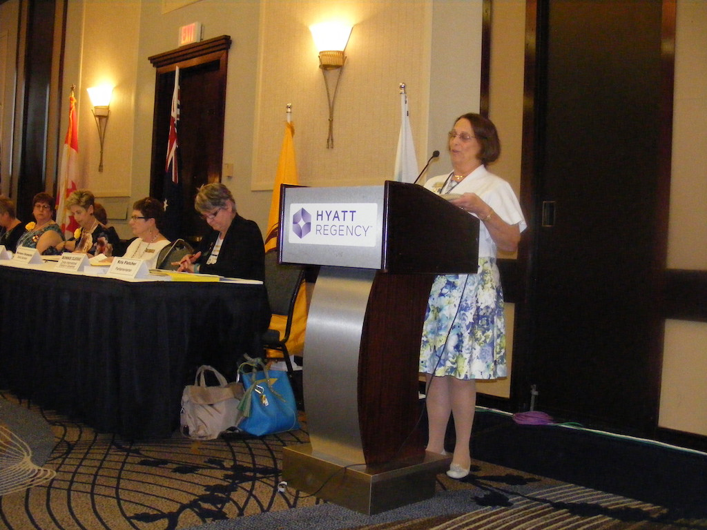 Zonta Members Learn Public Speaking & Board Protocol