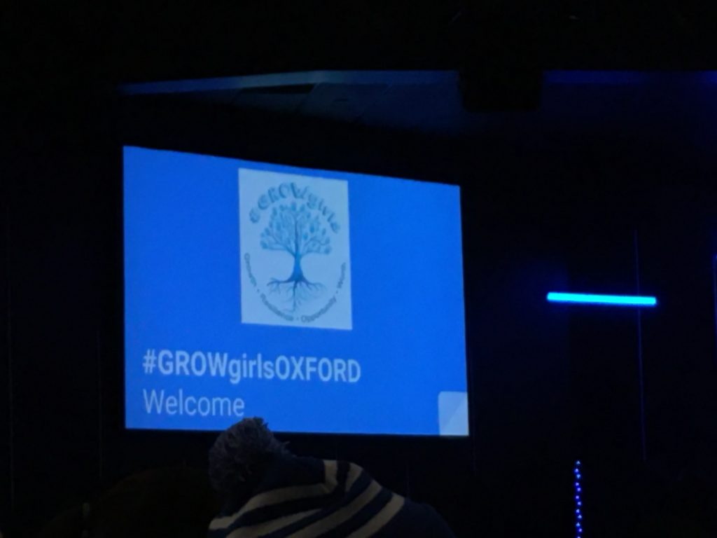 ZC of Woodstock Community Partner at 2019 GROWgirls Oxford