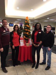 Zonta Says NO Community Partner Scotiabank Dundas Branch