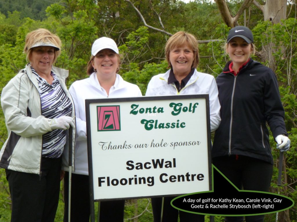 Vink Ladies Golf Group at Zonta Golf Classic