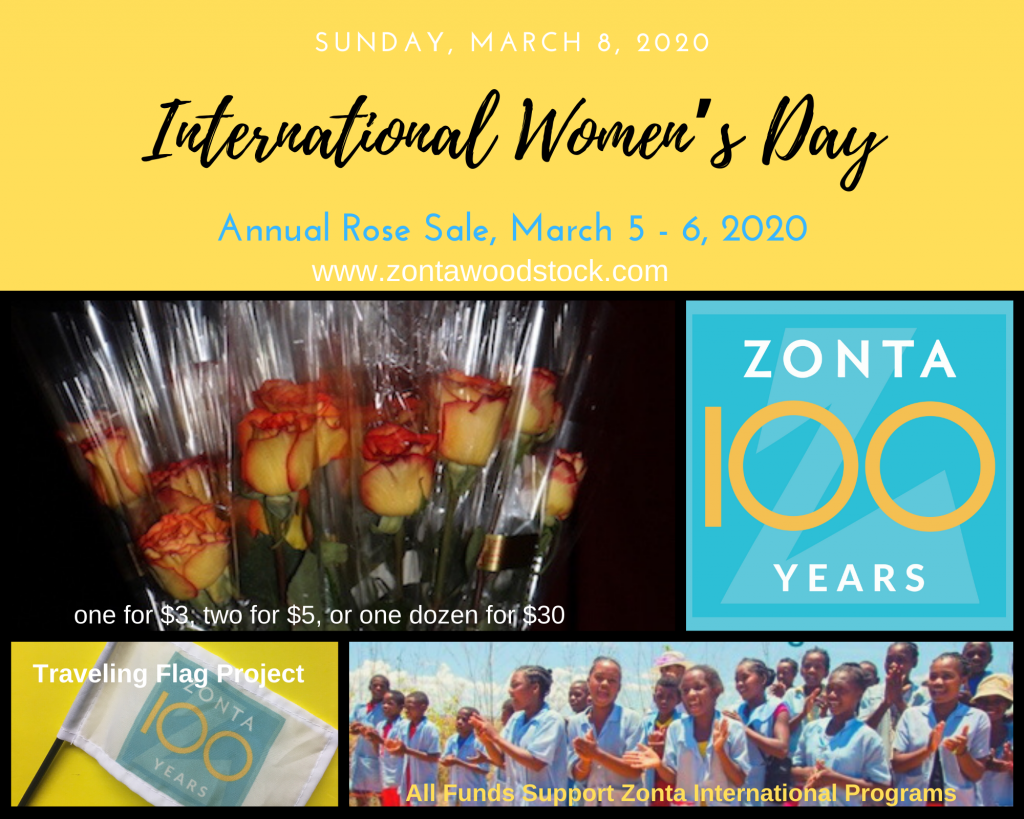 ZC of Woodstock International Women's Day Promotional Postcard