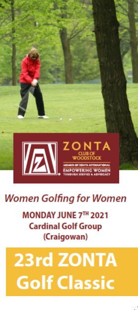 22nd Zonta Golf Classic Silver Recognition