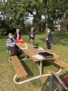 Woodstock Zontians Holding Executive Meeting